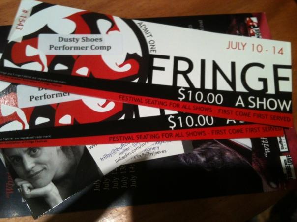 Fringe tickets